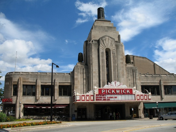22 best images about pickwick theater on pinterest for Park ridge building department