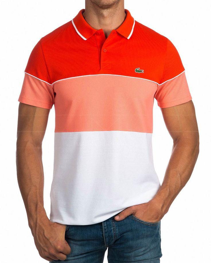 Polos Lacoste ® Sport - Blanco & Coral | ENVIO GRATIS