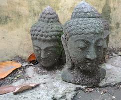 Buddha Kopf Lavastein - www.mangold-interieur.com
