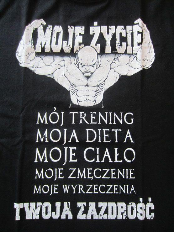 T-shirt Moje Życie Twoja Zazdrość :: ODZIEŻ ULICZNA