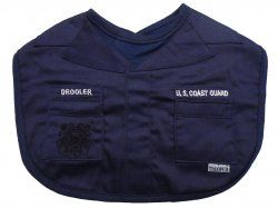 United States Coast Guard Drooler Baby Bib