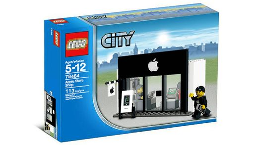 Apple Store Lego City