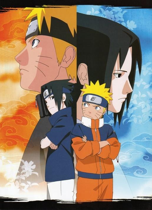 Uzumaki Naruto / Uchiha Sasuke. NARUTO. ANIME.  Pinned from Stephy Sama