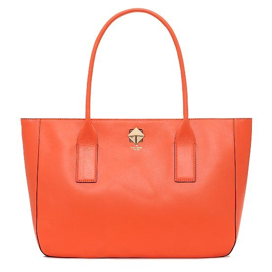 love orange bags.. especially when they look like this and are from Kate SpadeColors Bags, Spade Bags, Bond Street, Designer Handbags, Orange Purses, Street Hadley, Kate Spade, Fashion Handbags, Orange Kate