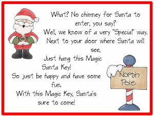 1000 Images About Santa Key On Pinterest Secret Santa