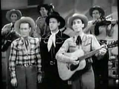 """Sons of the Pioneers """"Tumbling Tumble Weeds"""" - Another childhood memory.  Yes, I remember the 40s. I was born in 1941"""