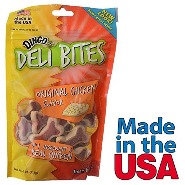 Dingo Dog Treats Chicken Flavor for Training Chewy Bones 4 oz Made in USA - You can read more at the image link. (This is an affiliate link and I receive a commission for the sales)
