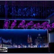modern lighting showroom - nowoczesne oświetlenie salonu e-technologia