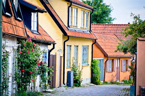 Visby is Gotland's gateway, as it has been for centuries. Sitting on the west coast of Gotland, the port city of Visby has a long history stretching back to the Middle Ages, when it was prosperous member of the Hanseatic League, a medieval trading alliance in northern Europe.