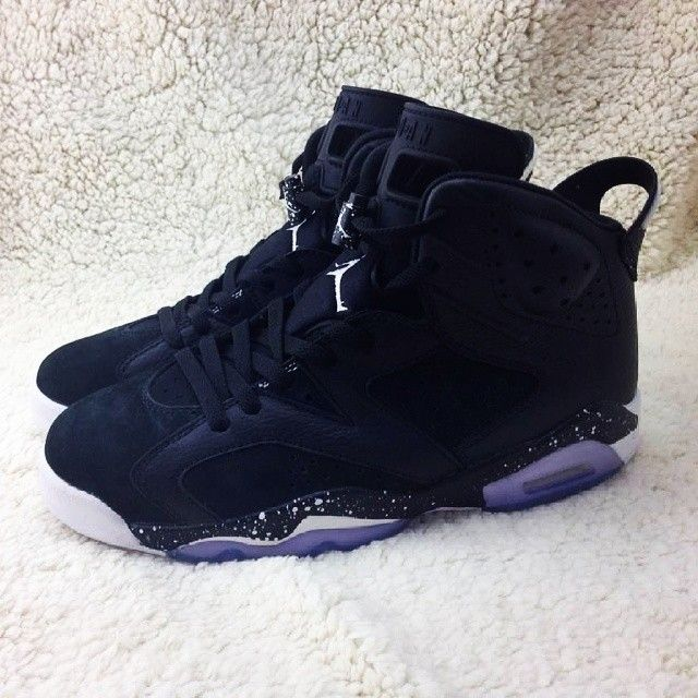 Shopping Nike Air Jordan 6 Cheap sale Black Floral Black Pink