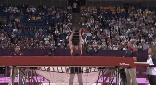 Infinite Olympic Trampolining! | The 33 Best GIFs Of The London Olympics