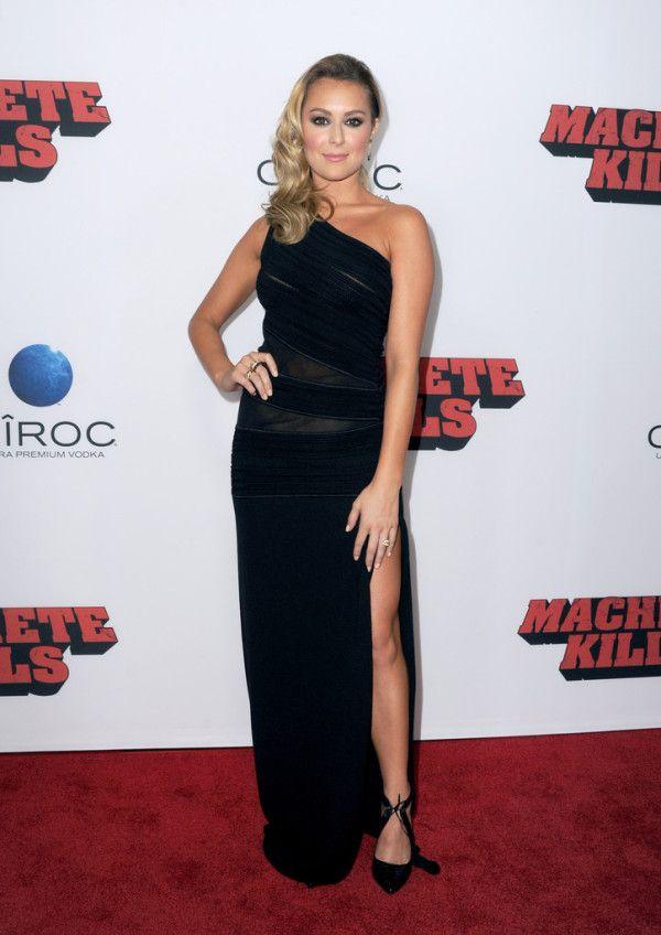Fabulously Spotted: Alexa Vega Wearing Roberto Cavalli - 'Machete Kills' LA Premiere  - http://www.becauseiamfabulous.com/2013/10/alexa-vega-wearing-roberto-cavalli-machete-kills-la-premiere/