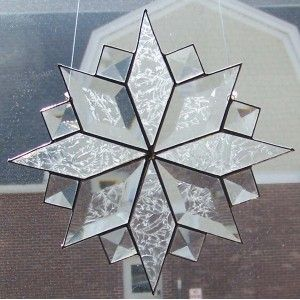 RED SNOWFLAKE STAINED GLASS - Google Search
