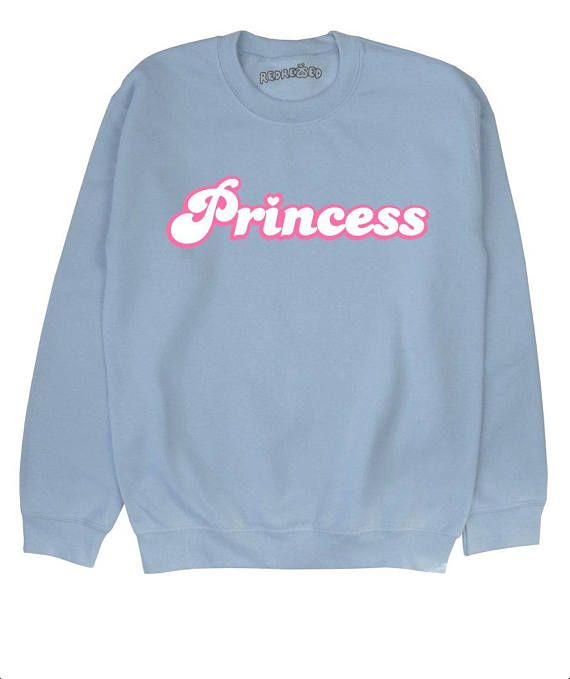 Prinzessin Sweatshirt Pulli Pullover Titten schwarz blau
