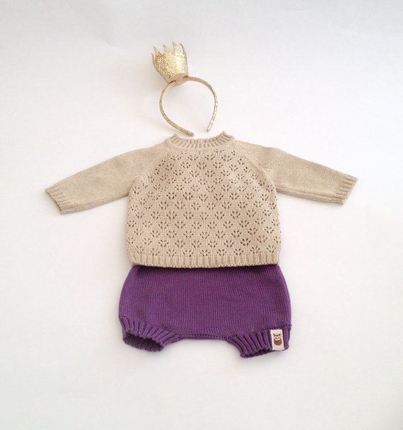 Baby clothes. Baby outfit for babies special occasion - baptism, birthday, Christmas party our every day wear. Baby Set contains of 2 parts - knit