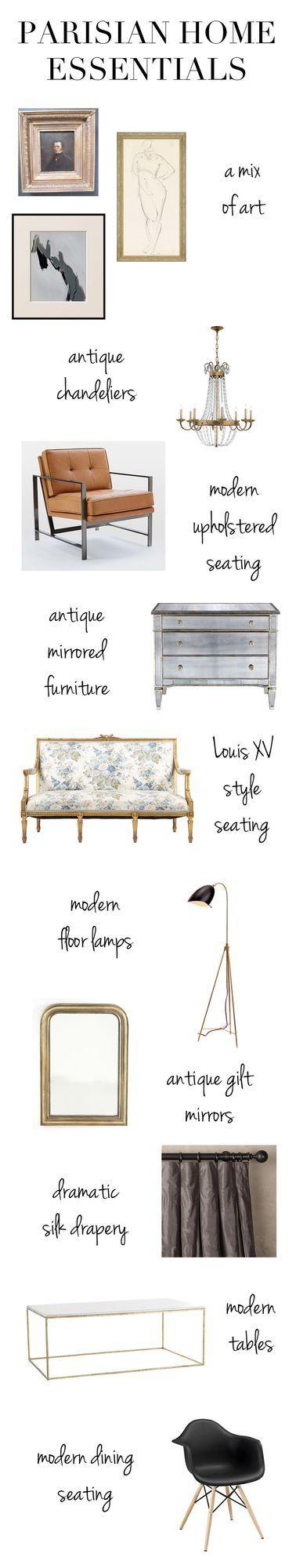 Parisian Style at Home & On You! (via Bloglovin.com )