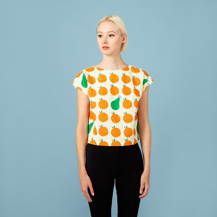 33 best Sewing Patterns - Tops images on Pinterest | Sewing patterns ...
