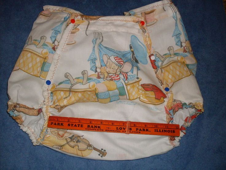 Adult baby cover diaper pants are not
