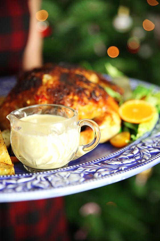 Orange and chilli marinated chicken.