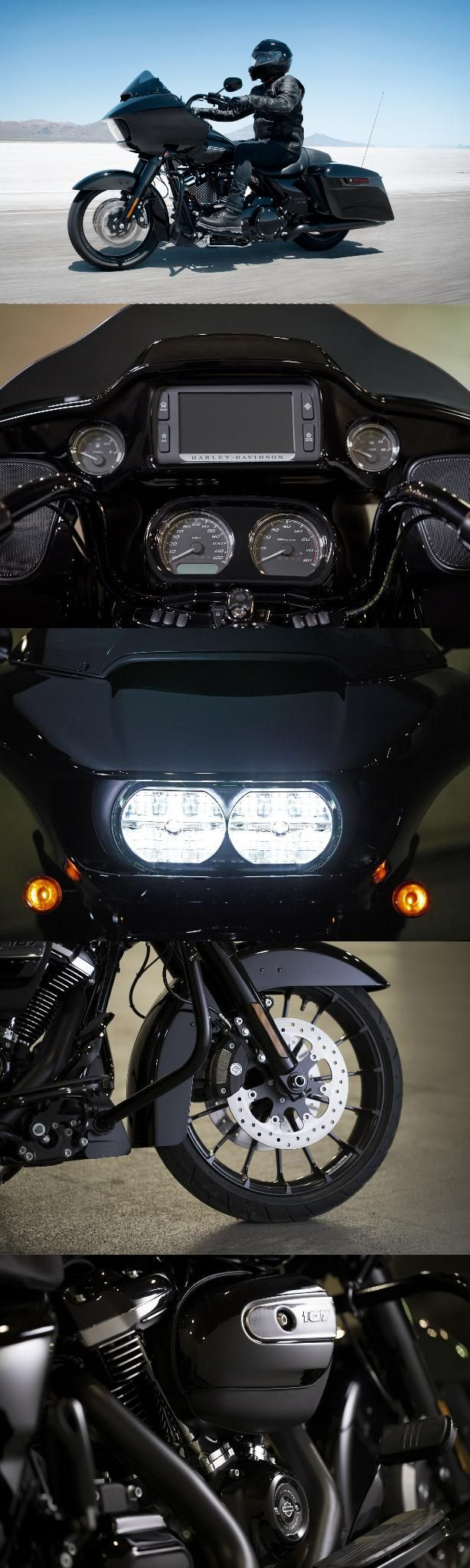 The aggressive looks & ride take our most road-devouring machine to an even darker place. | 2018 Harley-Davidson Road Glide Special