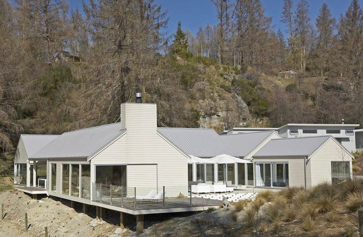 the Queenstown house four walls architecture ltd - New Zealand