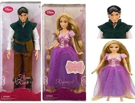 Disney ( Disney ) Tangled Rapunzel Doll and Flynn Rider Doll Set 12  Doll doll figure ( parallel imp @ niftywarehouse.com #NiftyWarehouse #Nerd #Geek #Entertainment #TV #Products