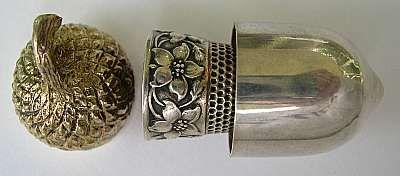 Antique Thimble out of case