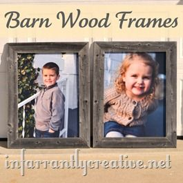 frames made from wood pallets