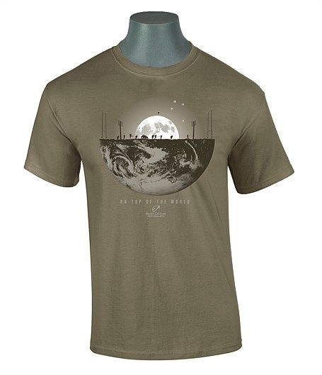 New Zealand rugby culture tees made by Global Culture - On Top of the World Rugby Tee