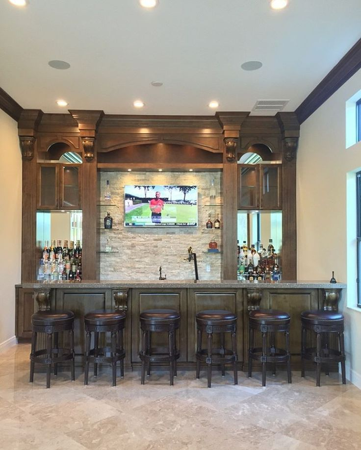 Bring In The Holiday Season With A Custom Home Bar Stocked With The  Essentials For A Merry Time With Your Guests. Designed By Professional  Designer Jeanne ...