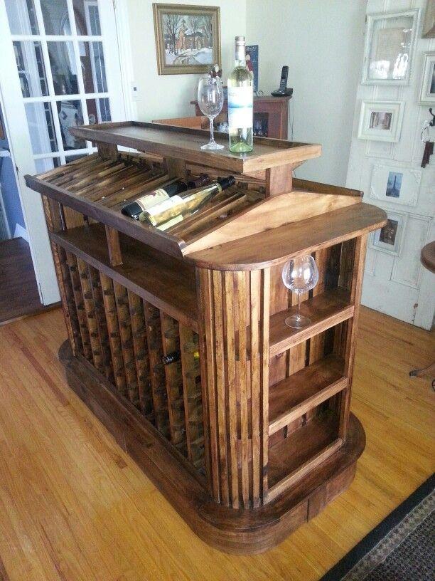 My wine rack project