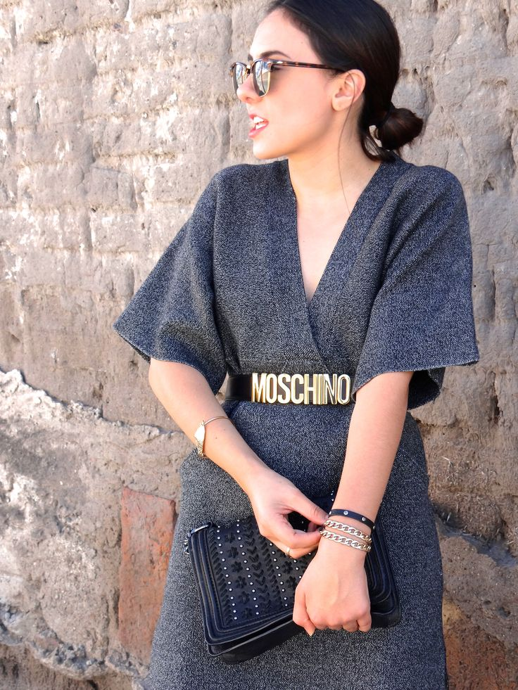 Moschino belt Pretaportermx outfit women