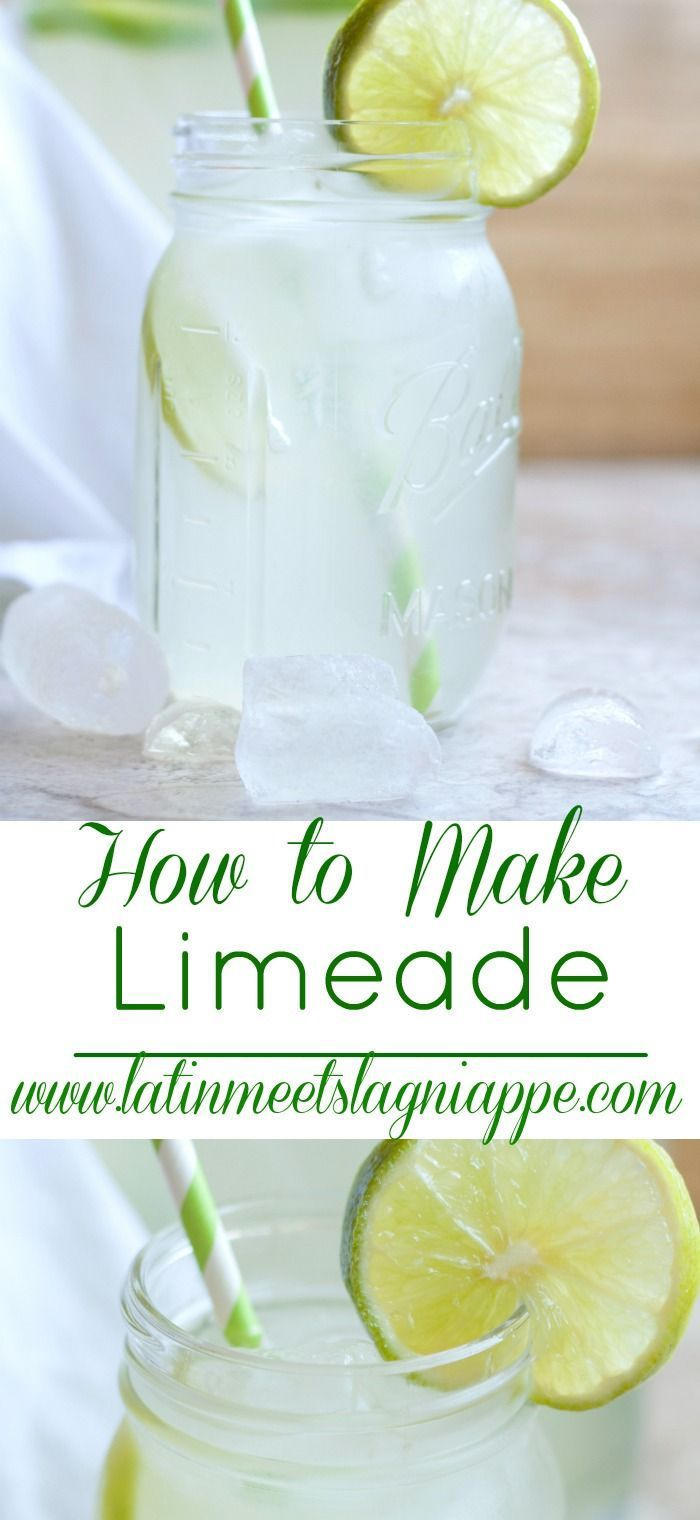 How to make limeade from scratch - so easy and so delicious!