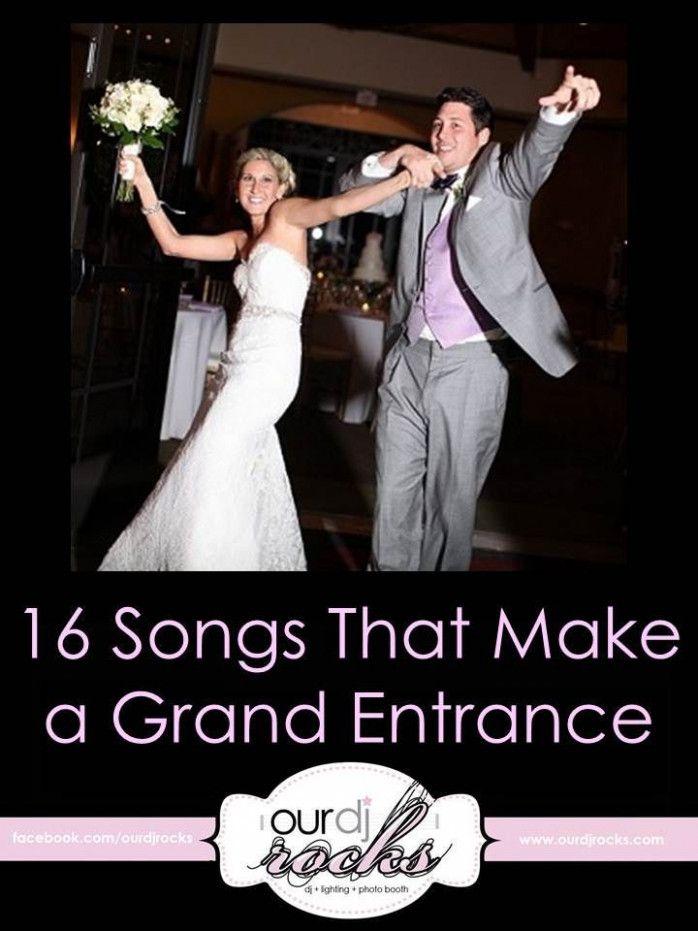 Wedding Reception Music Grand Entrance