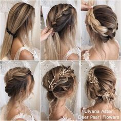 18 Wedding Hairstyles Tutorials for Brides and Bridesmaids  18 Wedding Hairstyles Tutorials for Brides and Bridesmaids
