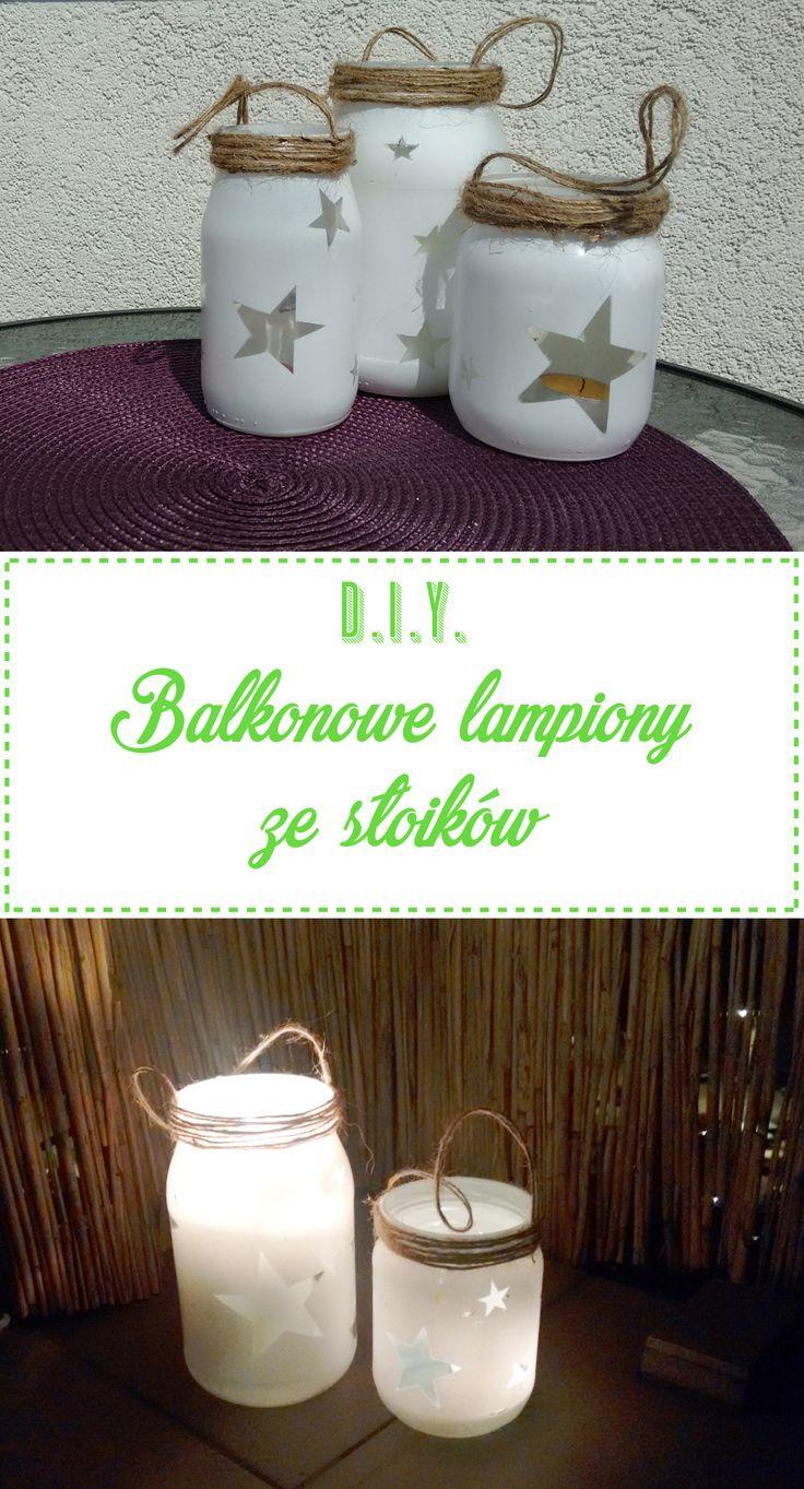 DIY Balkonowe lampiony ze soikw 13