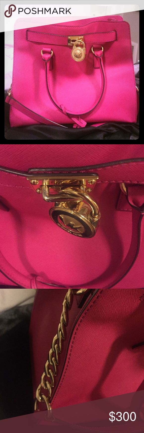 Michael kors pink shoulder bag Great condition shoulder bag. Michael Kors Bags Shoulder Bags