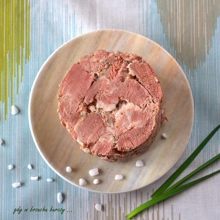 Gdy w brzuchu burczy... : Aromatyczna karkówka z szynkowara