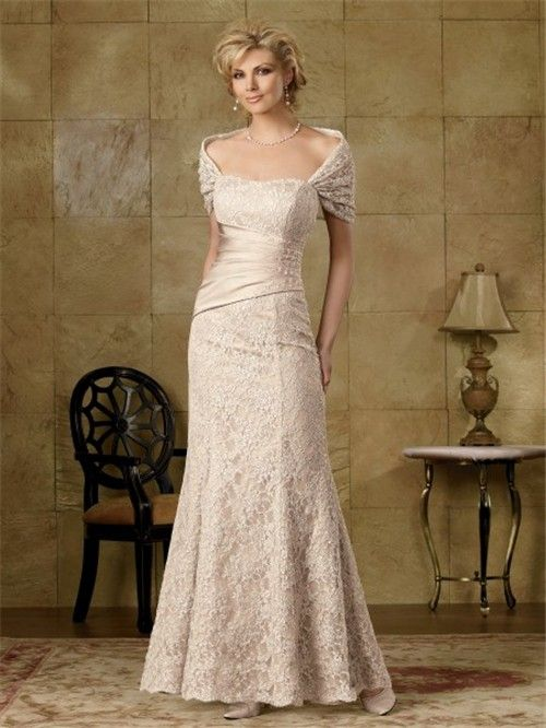 Elegant Mother Bride Dresses Home Mermaid Long Champagne Lace Of The
