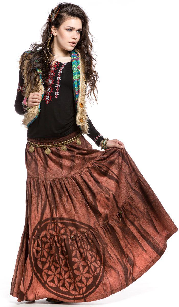 Женская длинная юбка, этническая одежда из Индии, бохо стиль, Women's skirt , ethnic clothing from India, Boho style, Chintamani. 3680 рублей