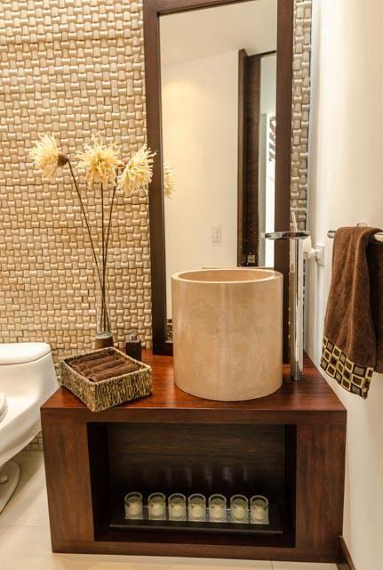 Lavabos Para Baño De Concreto:Lavabo circular de concreto para baño social