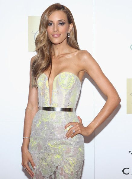 Rebecca Judd arrives at the 2012 Allan Border Medal Awards at Crown Palladium on February 27, 2012 in Melbourne, Australia.