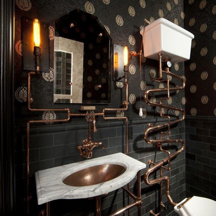 Modern Victorian Bathroom Design 227 best bathroom décor and diy (gothic, steampunk, victorian