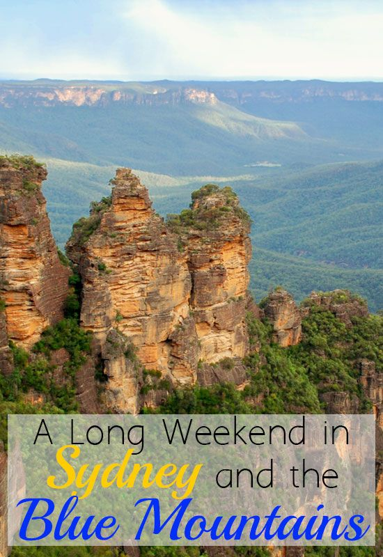 A Weekend Getaway in Sydney and the Blue Mountains #Australia #Sydney #BlueMountains