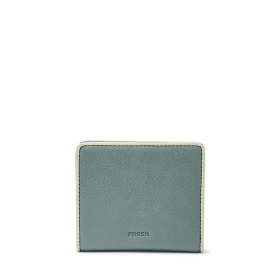 This season, less is definitely more. Our Emma mini wallet's smooth glazed leather in arctic mist make it a lasting essential.We've designed this wallet with a special lining to help protect the Radio Frequency Identification (RFID) chips in your credit and debit cards from unwarranted scanning.