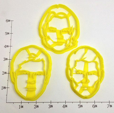 Supernatural Sam and Dean Winchester and Castiel Cookie Cutter Set – WarpZone Prints