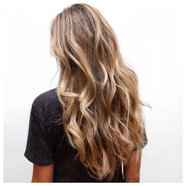 Loose waves.   #hair