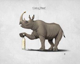 Cork it Durer by rob-art at zippi.co.uk art | decor | wall art | inspiration | animals | home decor | idea | humor | gifts