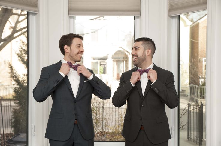 Matching Bowties to compliment their Custom suits. #theodore1922