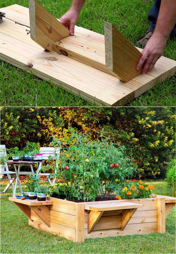 28 Best Diy Raised Bed Gardens Easy, Diy Cedar Raised Garden Planter